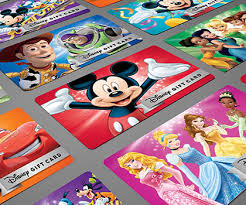 disney gift cards to start ping