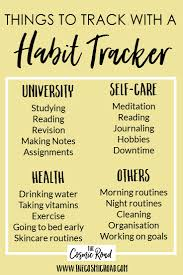 best study inspiration ideas study study hacks habit tracking is an amazing way to build and develop good habits or break bad ones