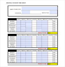 free timesheets templates excel monthly timesheet template excel excel timesheet template free