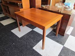 Vintage Extendable Dining Table Vintage Midcentury Dining Set Set Mid Century Dining Room 4 Solid