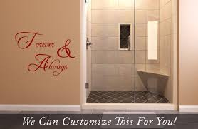 Wall Decor Sticker Forever And Always Wall Decor Vinyl Lettering Decal Sticker Words