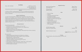 2 Page Resume Cool 60 Page Resume Format Pages Two Sample 60 Cover Letter 60 Endowed Or