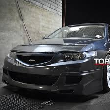 <b>Накладка на передний бампер</b> Mugen Lite на Honda Accord 7