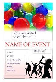 Business Flyer Templates Free Printable Business Pamphlet Templates Free Free Party Invitation Flyer