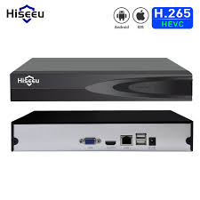 Hiseeu H.265 HEVC <b>8CH</b> 16CH <b>CCTV NVR</b> for 5MP/4MP/3MP/2MP ...