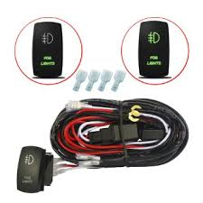 cheap two switch wiring diagram two switch wiring diagram get quotations · mictuning 12ft led light bar wiring harness 40a relay laser green on off rocker