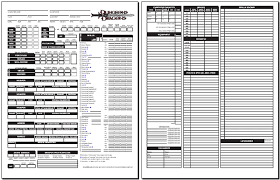 dungeons and dragons character sheet online blackmoors d d 3 0 character sheet standard 1 05