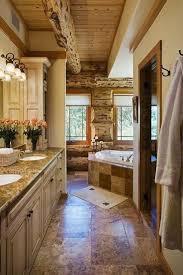 Cabin Bathroom 17 Best Ideas About Log Cabin Bathrooms On Pinterest Log Cabin