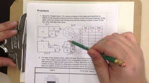 Introduction To Engineering Design Activity 2 4 Ied Activity 2 4 Multiview Sketching 1