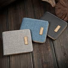 QG <b>Korean</b> men's ultra-thin <b>short student wallet</b> fashion <b>wallet</b> card ...