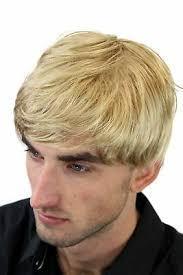 Perruque Masculine Hommes Blond Raie Femme Coiffure Courte Cheveux Gfw993 25