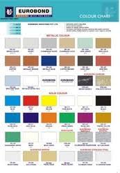 Acp Colour Chart Aluminium Panel Sheet Acp And Eurobond Color Chart
