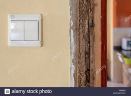 How To Block Light Around A Door Plinth Block At A Door Damaged By Termites After Treatment