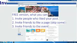 increase likes on facebook page script to invite friends and fans to follow fb page