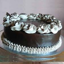 Chocolate Truffle Flavor Design Cake Foods Onehalt