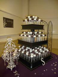 Our Wedding Cake Pop Stand