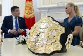 Президент и спикер ЖК встретились с Валентиной Шевченко: что политики  подарили чемпионке?