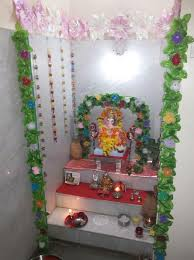 ganesh chaturthi decoration ideas for home