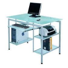 glass computer desks popular of desk ing tips small uk