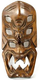 best images about headhunters headshrinkers old school on headhunters of tribal mask dragon demon ifugao igorot bontoc wood