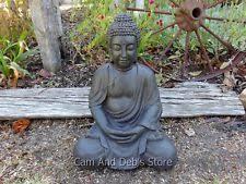 garden buddha statues. Buddha Sitting Statue Figurine Ornament Sculpture 51 Cm Garden Statues