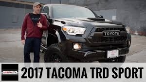 2017 Toyota Tacoma TRD Sport 4x4 Custom - LoyalDriven - YouTube