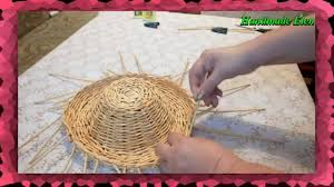 DIY <b>weaving</b> newspapers tutorial how to make a hat - YouTube