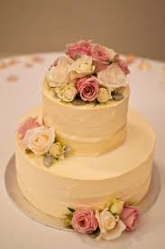10 2 Tier Wedding Cakes With Buttercream Icing Photo Rose Frosting