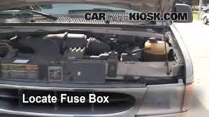 replace a fuse 1990 2007 ford e 150 econoline club wagon 2001 2001 ford e 150 econoline club wagon xlt 5 4l v8 fuse engine