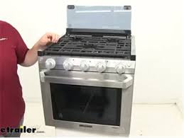 furrion rv stoves and cooktops stove fsre21sass review etrailer com