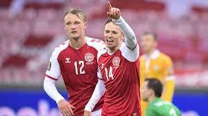 Qualificazioni Qatar 2022: Damsgaard titolare in Danimarca Austria