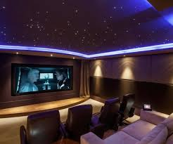 small media room ideas. Large Size Of Compelling Black Lear Seats On Khaki Carpet With Blue Starscape Ceiling Small Media Room Ideas