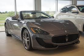Cars for Sale: New 2017 Maserati GranTurismo Sport Convertible ...
