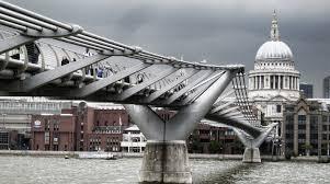 Image result for wobbly bridge