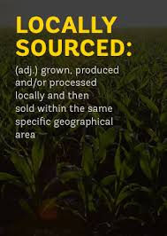 locally sourced produce