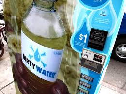 Bottled Water Vending Machines For Sale Extraordinary UNICEF's Dirty Water Vending Machine Offers 48 Flavors Of Disease