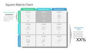 Matrix Chart Powerpoint 9 Cells Square Matrix Powerpoint Infographic