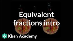 Equivalent Fractions Bars Chart Equivalent Fractions Video Fractions Khan Academy