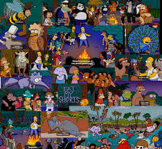 Wallpapers ☆ Simpsons Halloween Wallpaper Of The Springfield Simpson Treehouse Of Horror Episodes