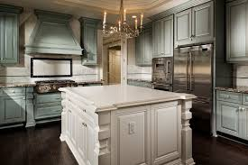 kitchen cabinets stain colors. Brilliant Cabinets Kitchen Cabinet Stain Colors Kitchen Traditional With Antiqued Backsplash  Blue Cabinetry Image By Melinda Mandell On Cabinets Stain Colors H
