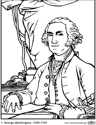 Small Picture Ideas of George Washington Coloring Page About Summary