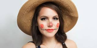 8 easy steps for creating a scarecrow makeup look for halloween