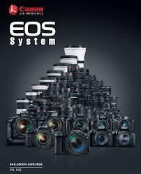 Canon Eos System Chart Canon Camera News 2020 Canon Eos Camera System Pdf Brochure