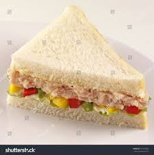 Tuna Salad Sandwich White Bread Stock Photo Edit Now 621758042