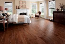 solid parquet floor glued ash varnished mambo