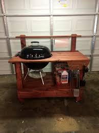 weber grill cart plans diy barbecue table cur depict besides 08