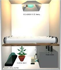 closet grow room setup ventilation small