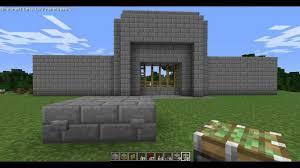 minecraft gate. Minecraft Tutorial Redstone Castle Gate With Pistons Hidden Regard To Sizing 1280 X 720