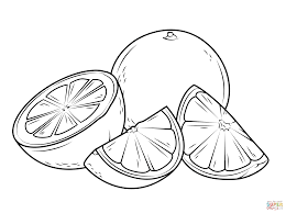 Small Picture Oranges coloring pages Free Coloring Pages