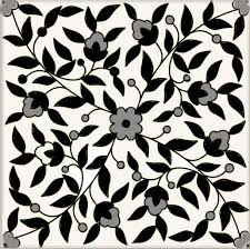 Black And White Tiles Decorative Tiles Black White Balian Tile Studio Of Jerusalem